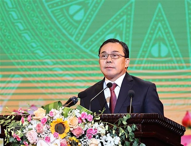 Lao ambassador hails leadership role of Communist Party of Vietnam hinh anh 1