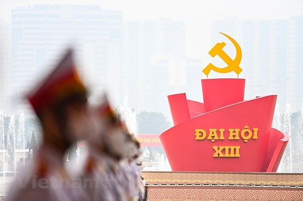 Vietnamese confident about congress's success, Party leadership hinh anh 1