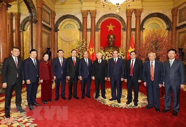 Top leader: Turn opportunities into reality to build prosperous, happy Vietnam hinh anh 2