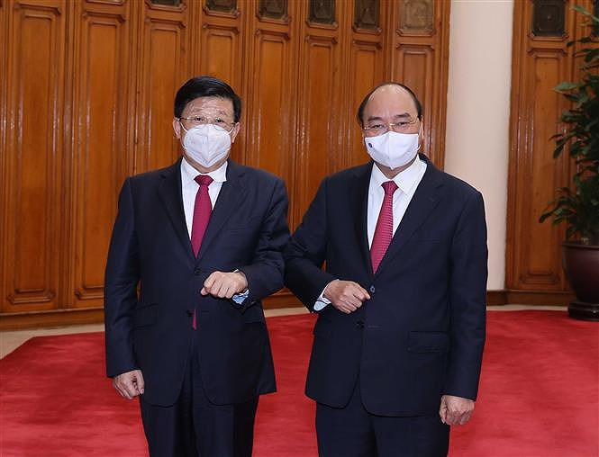 PM Nguyen Xuan Phuc receives Chinese Minister of Public Security hinh anh 1
