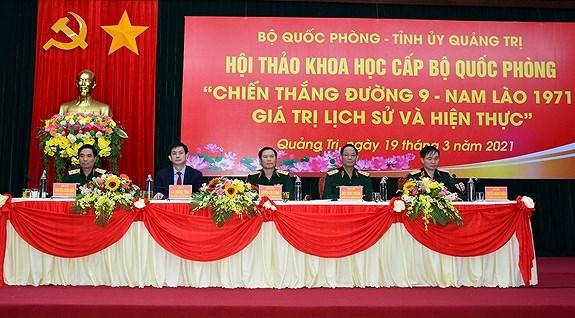 Seminar marks 50th anniversary of Road 9 - Southern Laos victory hinh anh 1