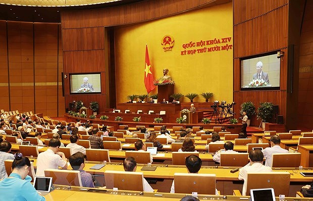 NA conducts procedures to relieve Prime Minister, State President hinh anh 1