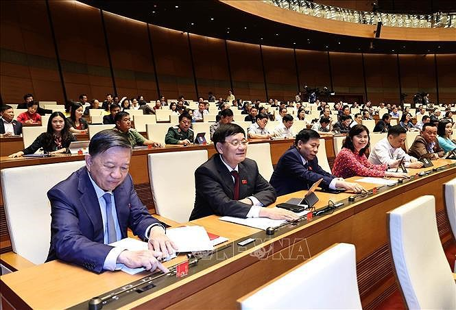 NA to elect State Vice President, members of NA Standing Committee hinh anh 1