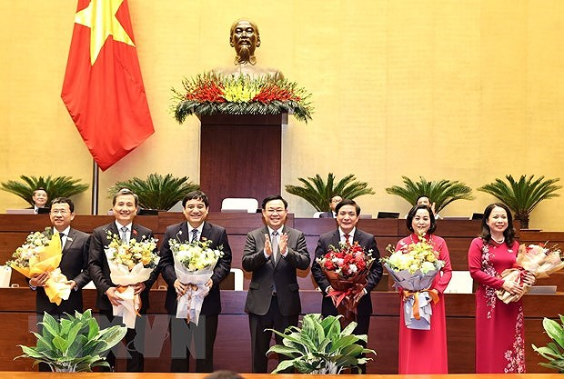NA Standing Committee has five new members hinh anh 1