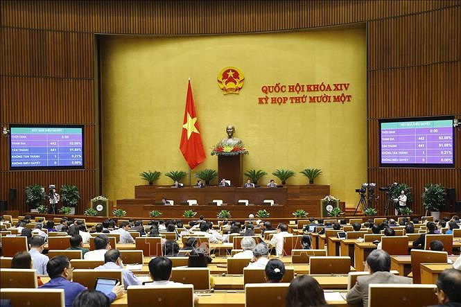 NA continues with personnel work on April 7 hinh anh 1