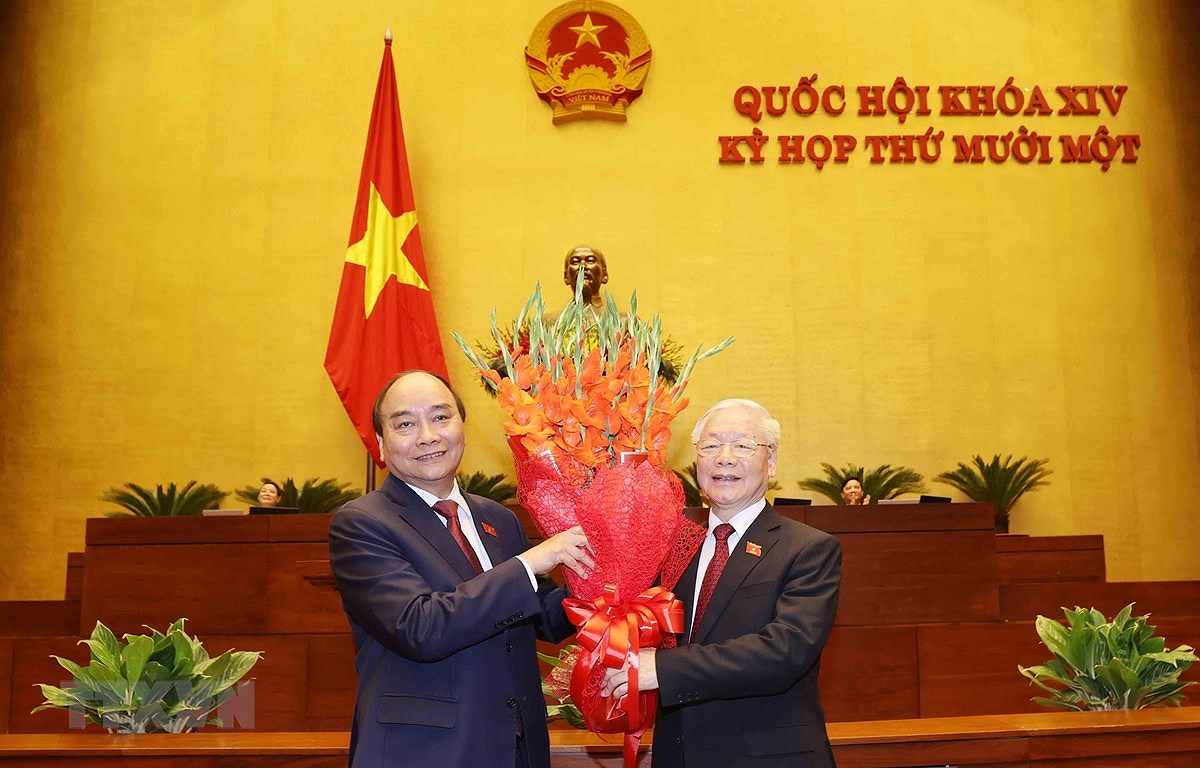South African newswire highlights Vietnam's new leadership hinh anh 1