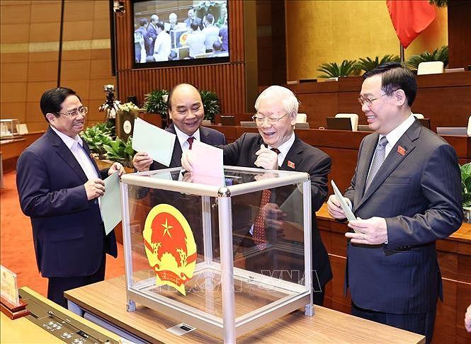Vietnam's new leadership makes headlines in Algeria hinh anh 1