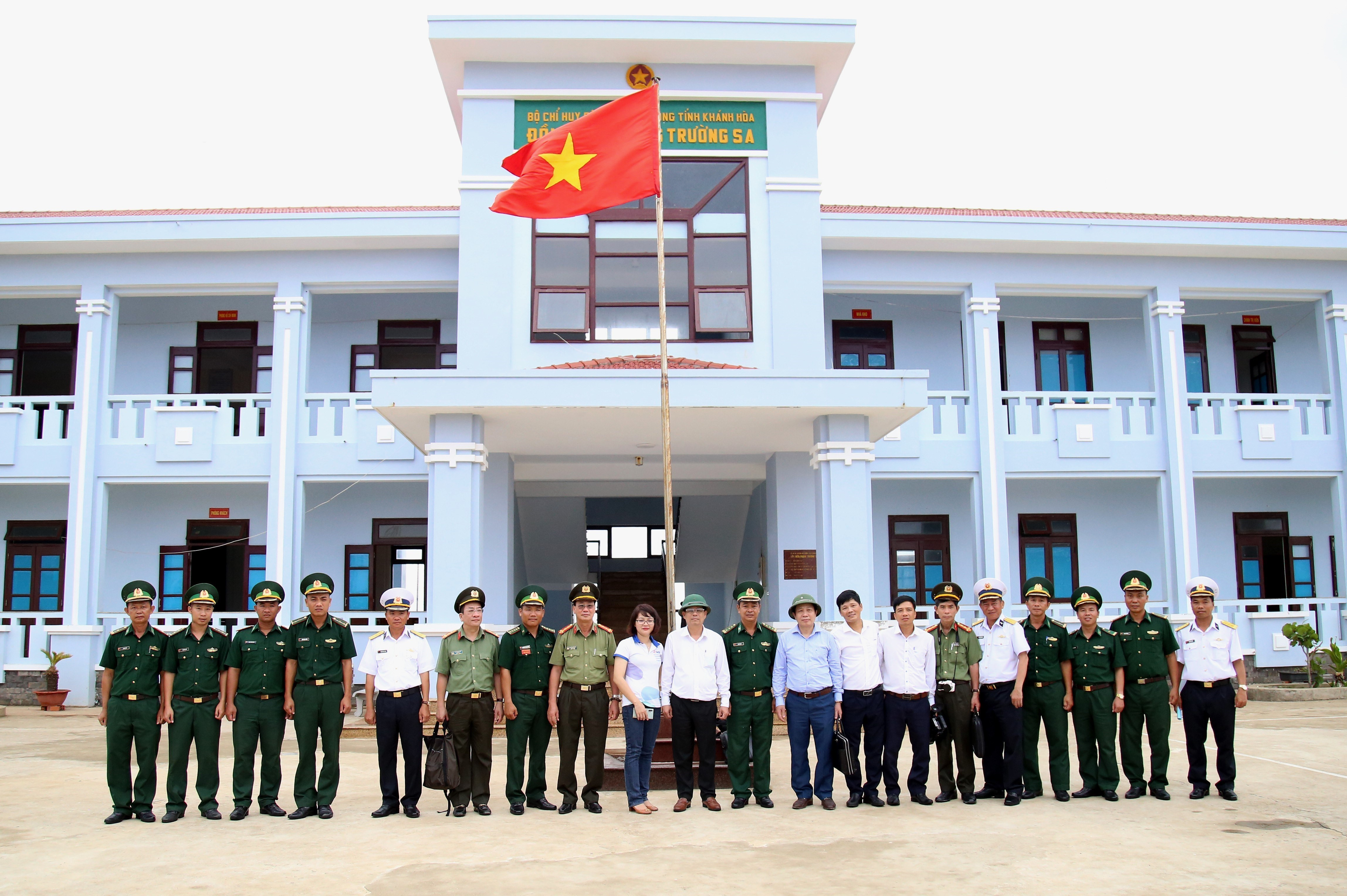 Election preparations in Truong Sa inspected hinh anh 1