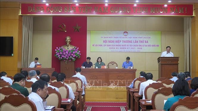 Lists of candidates for NA, People's Council elections finalised in localities hinh anh 1