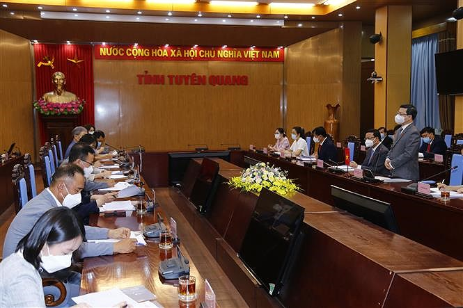 Tuyen Quang promoting cooperation with RoK hinh anh 1
