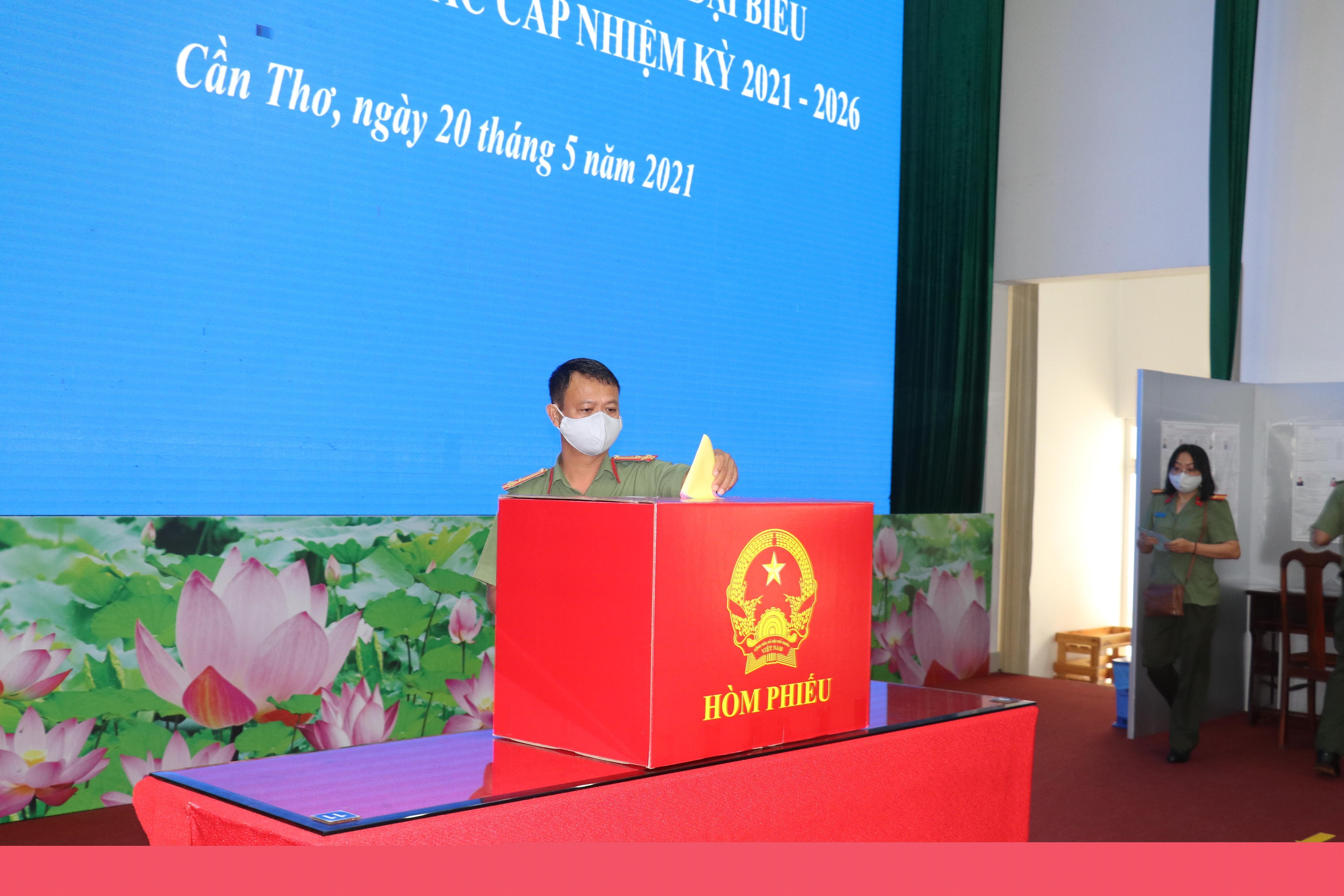 Early voting organised in 16 cities and provinces hinh anh 1