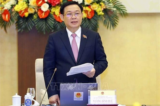 NA Chairman calls on voters to wisely elect people's representatives hinh anh 2