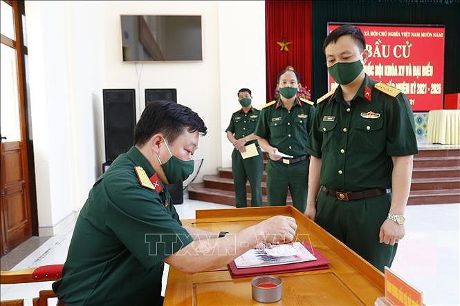 Indian media highlight significance of Vietnam's general elections hinh anh 1