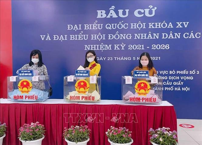 International media spotlight Vietnam's general elections hinh anh 1