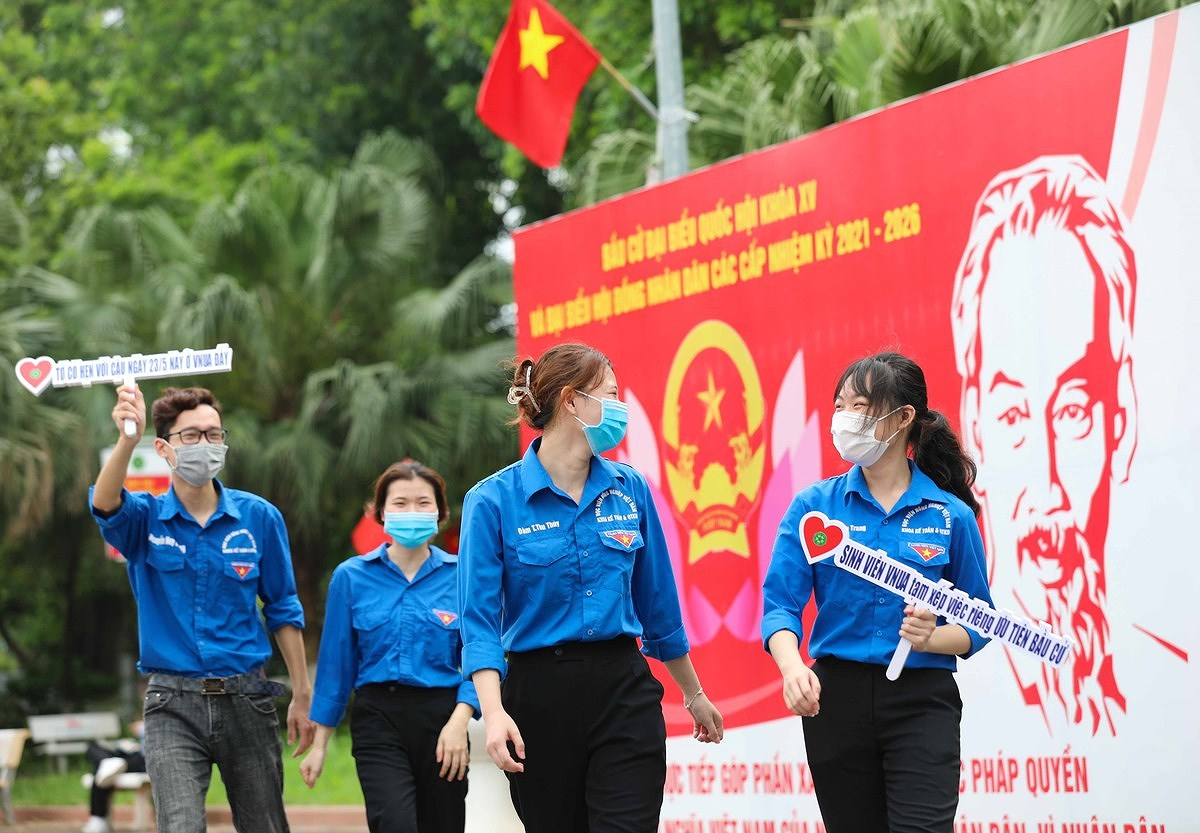 People's solidarity results in successful general elections hinh anh 4