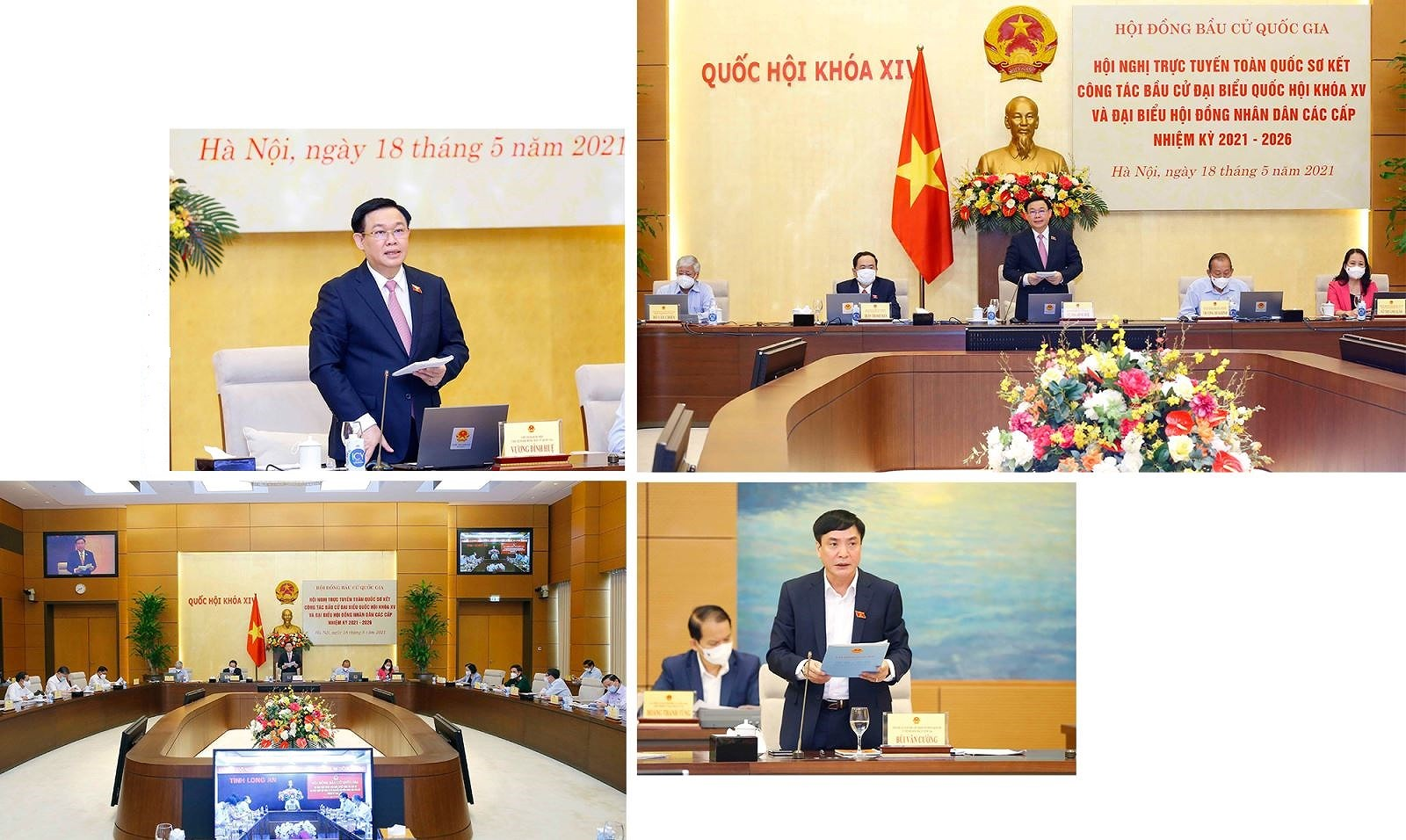 People's solidarity results in successful general elections hinh anh 5