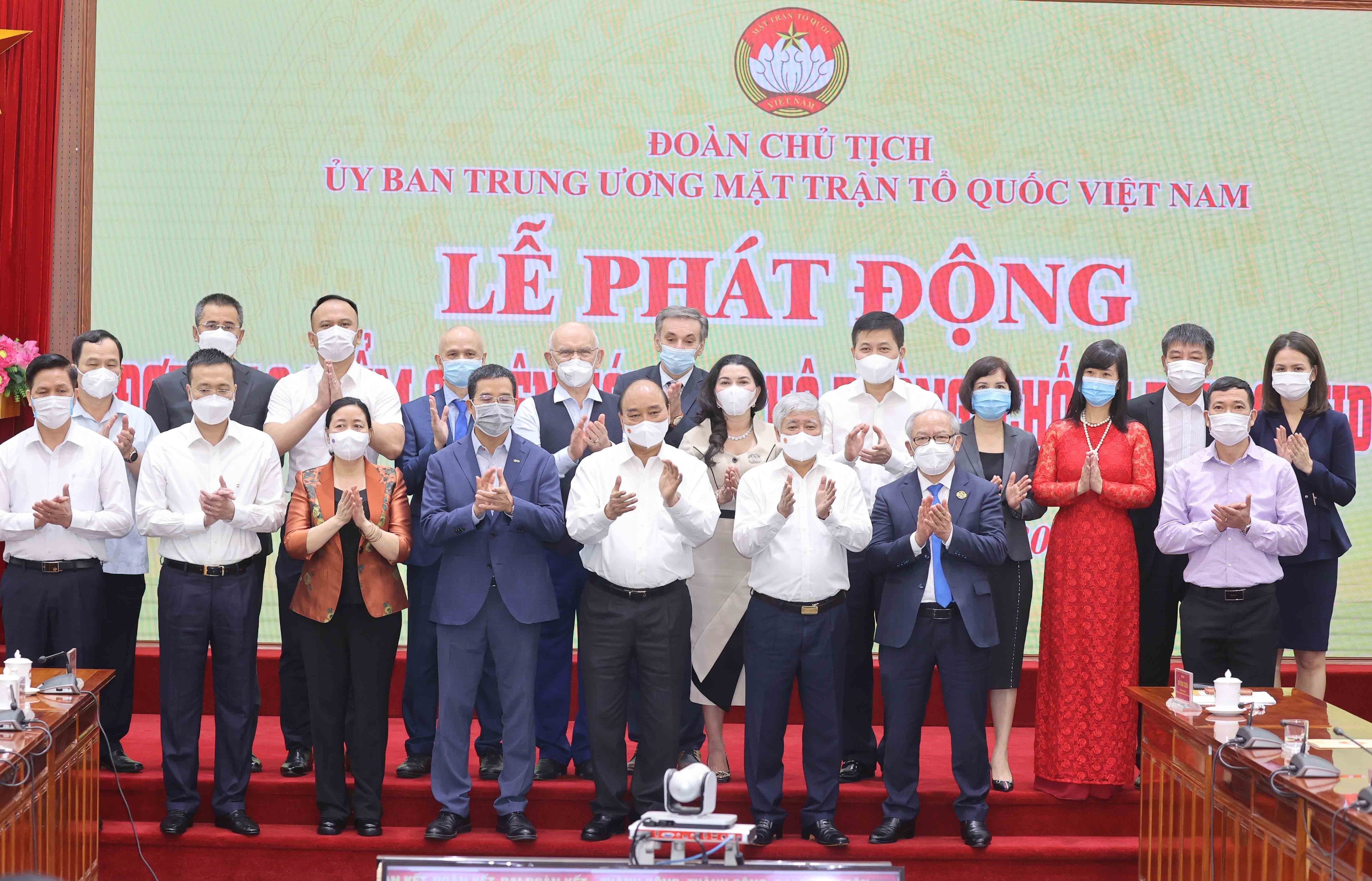 State President appeals for joint efforts in COVID-19 combat hinh anh 2