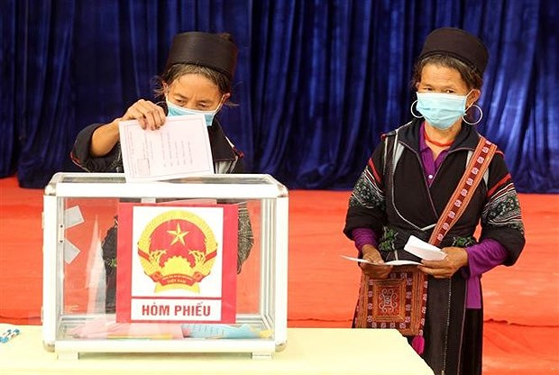 High voter turnout reflects public trust in Party, State: official hinh anh 1