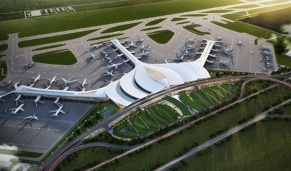 Construction of Long Thanh Airport's terminal, runway slated for Q1 2022 hinh anh 1
