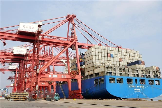Vietnam, China sustain development trend in bilateral ties despite pandemic hinh anh 3