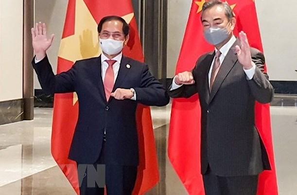 Vietnam, China sustain development trend in bilateral ties despite pandemic hinh anh 2