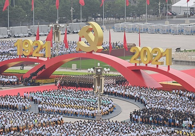 Greetings extended to Communist Party of China on founding anniversary hinh anh 1