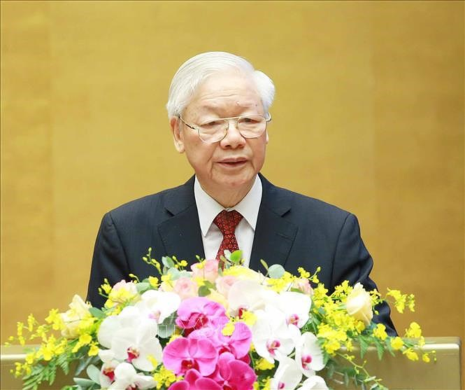 13th Party Central Committee convenes third plenum hinh anh 1