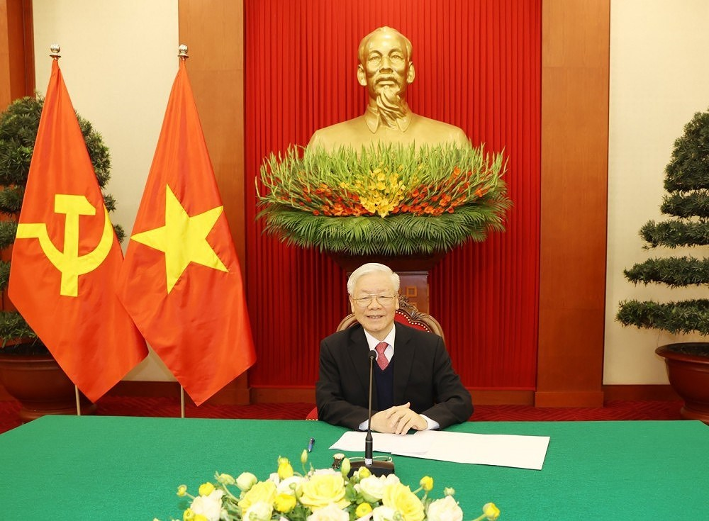 Chinese journalist: CPV chief's article reflects strategic vision about revolutionary cause in Vietnam hinh anh 1