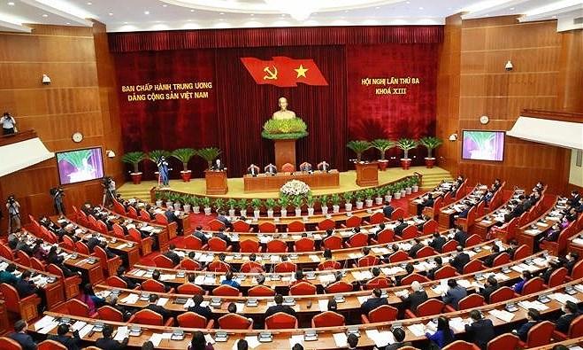 Party Central Committee's draft working regulations discussed hinh anh 1