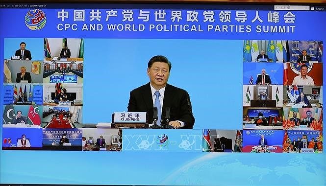 Party chief attends CPC and World Political Parties Summit hinh anh 2