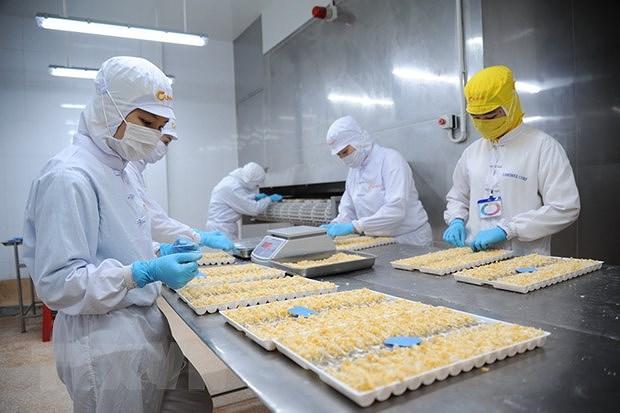 Vietnam's shrimp exports rake in 1.7 billion USD H1 hinh anh 1