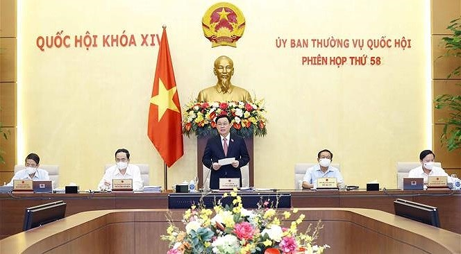 14th NA Standing Committee convenes last meeting hinh anh 1