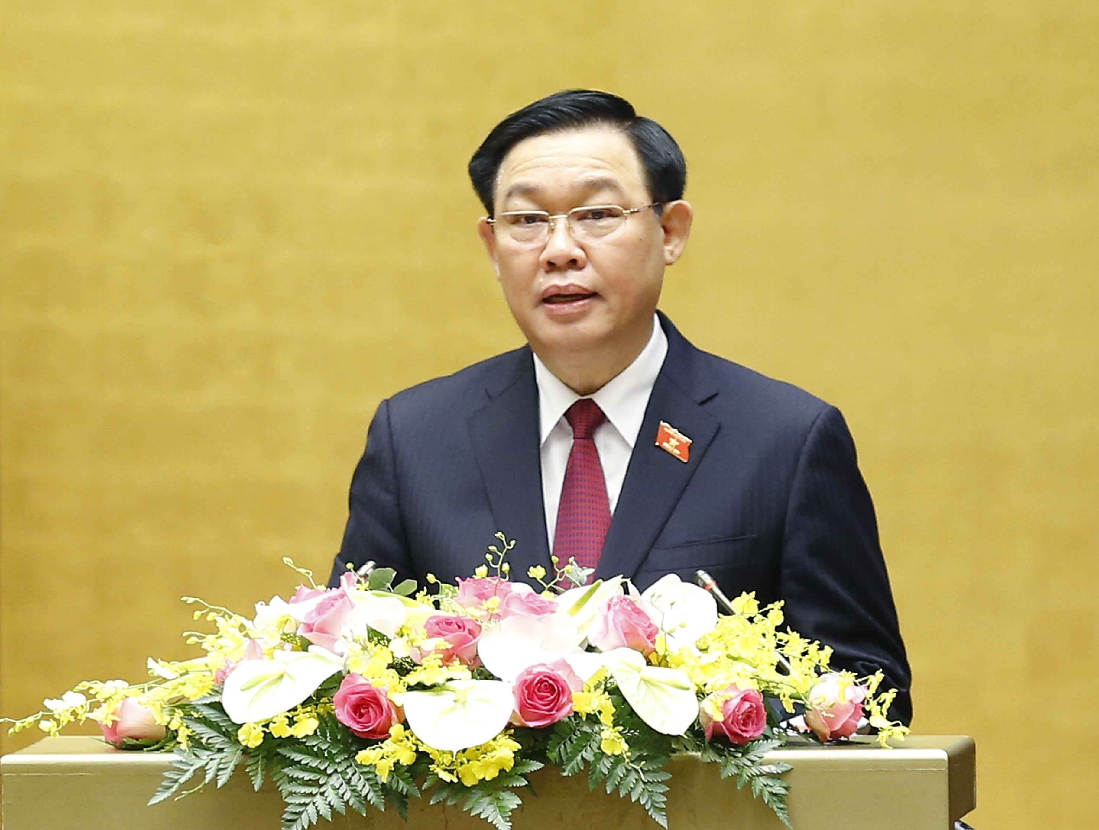 NA leader stresses application of Ho Chi Minh's thoughts in legislation hinh anh 1