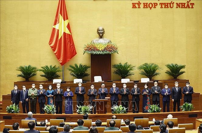 Press release of 15th National Assembly's first session hinh anh 1