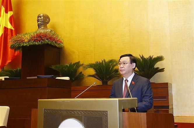 15th NA's first session: premise, momentum for legislative activities hinh anh 3
