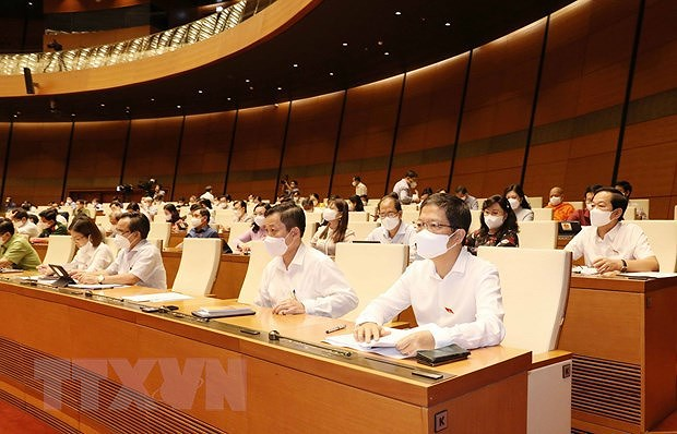 Nomination list presented for legislators to elect State President hinh anh 1