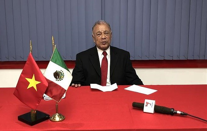 Mexican Labour Party's leader hails socialism building as CPV's sound decision hinh anh 1