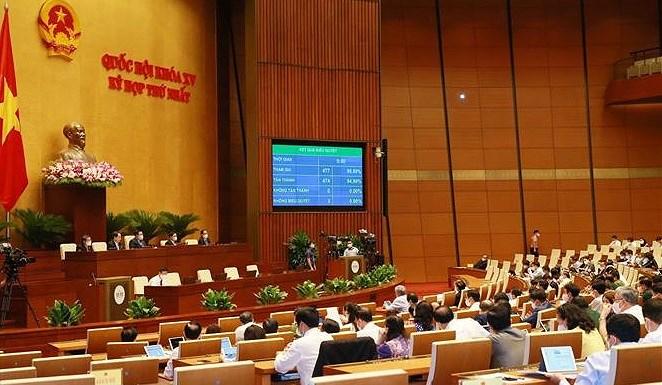 NA adopts 2021-2025 national financial plan hinh anh 1