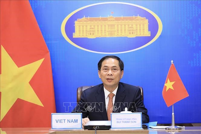 Diplomats urged to boost vaccine diplomacy to help achieve 'twin targets' hinh anh 1
