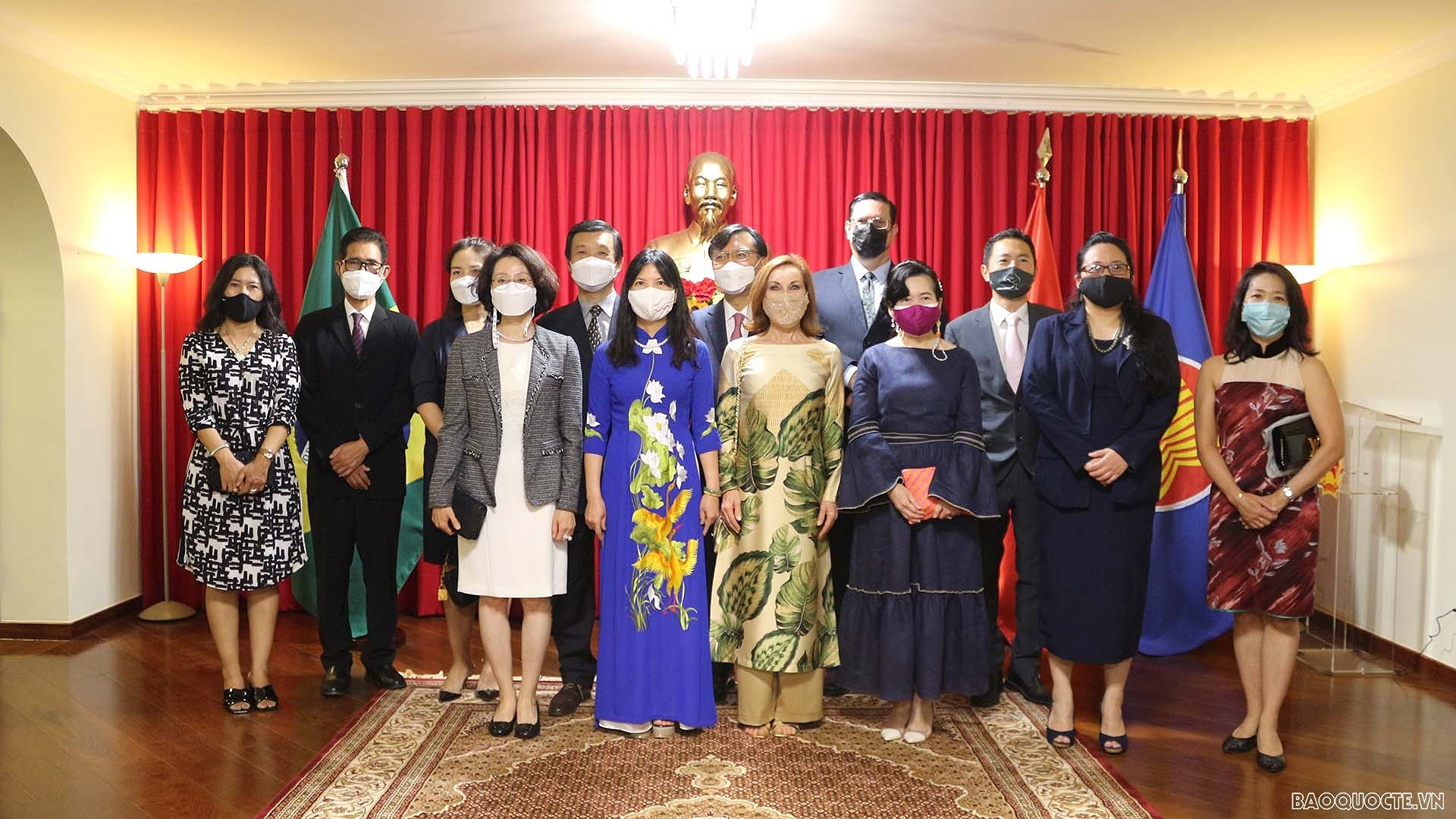 Vietnamese National Day observed in Brazil hinh anh 1