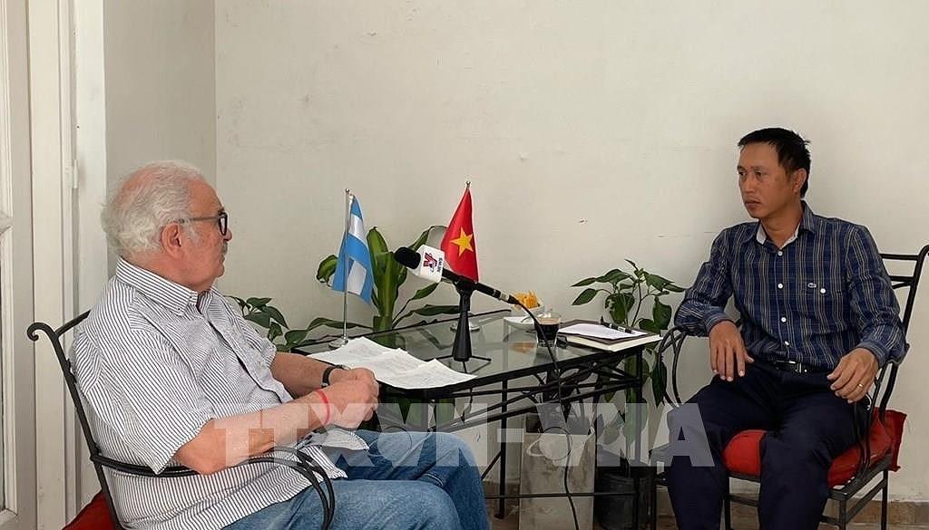 L'Argentine salue le role de direction du Parti communiste du Vietnam hinh anh 1