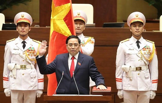 Assemblee nationale : Pham Minh Chinh reelu Premier ministre hinh anh 1