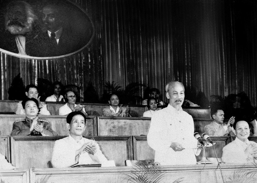 3e Congres national du Parti: edifier le socialisme au Nord et reunifier le pays hinh anh 1