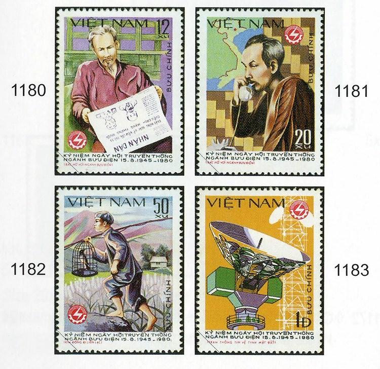 Collection de timbres sur le President Ho Chi Minh hinh anh 5