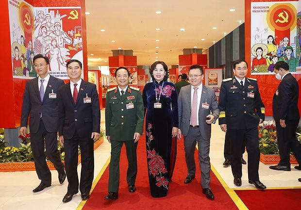Les Partis politiques de la Russie, de l'Inde et du Japon felicitent le 13e Congres national du PCV hinh anh 1