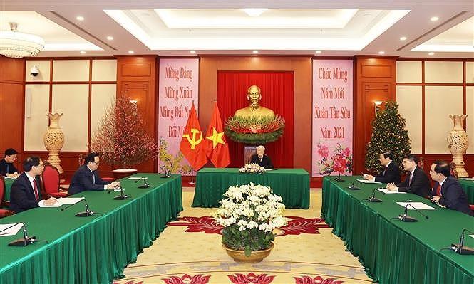 Renforcement de l'amitie speciale Vietnam-Cuba hinh anh 1