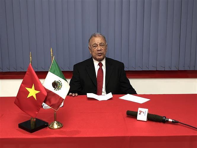 Un homme politique mexicain apprecie l'article du SG Nguyen Phu Trong sur le socialisme au Vietnam hinh anh 1