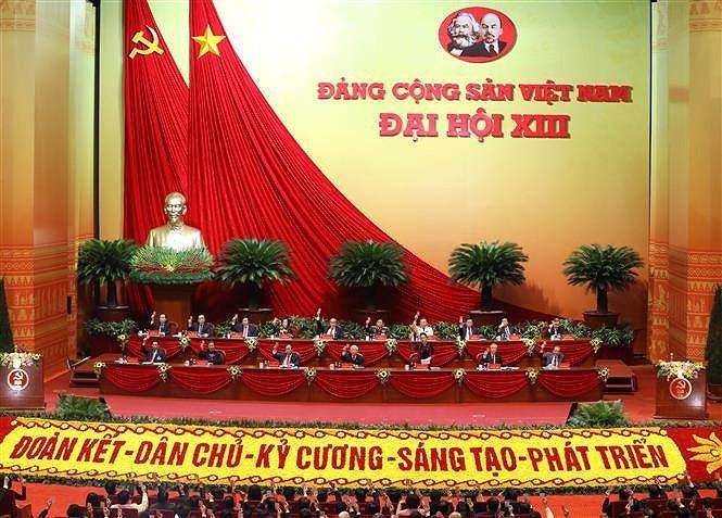 13e Congres du Parti: Messages de felicitations de Partis, organisations et amis internationaux hinh anh 1