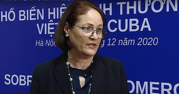 Une diplomate cubaine apprecie le leadership du PCV hinh anh 1
