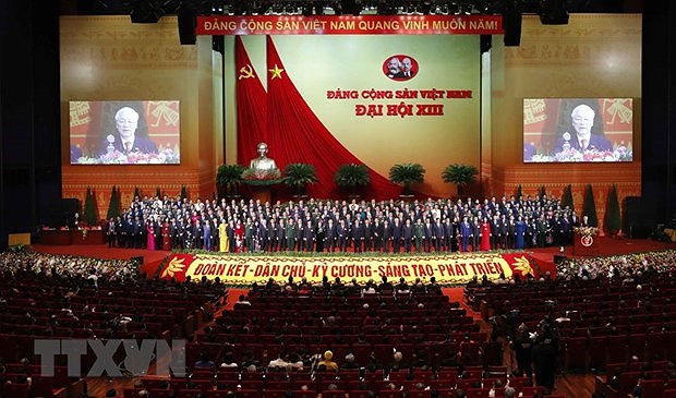 Le leader vietnamien recoit les felicitations de son homologue chinois hinh anh 2